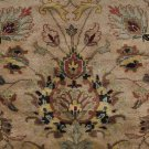 8x10 WOOL HANDMADE AREA RUG BEIGE PERSIAN MASTERPIECE