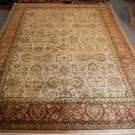 10x14 FINE WOOL AREA RUG PERSIAN HANDMADE NEW THICK