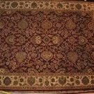 9x12 WOOL AREA RUG PERSIAN HANDMADE JAIPUR RED BEIGE