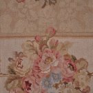5x8 FRENCH AUBUSSON SAVONERRIE AREA RUG HANDMADE GOLD