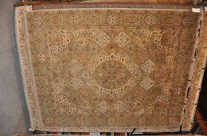 8x10 AREA RUG HANDMADE JAIPUR WORSTED WOOL PATCHWORK