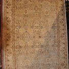 5x8 AREA RUG WOOL HANDMADE VEGETABLE DYE CHOBI BEIGE