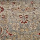 6x8 AREA RUG WOOL HAND KNOTTED VEGETABLE DYE CHOBI BLUE