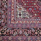 8x8 SQUARE WOOL RUG PERSIAN BIDJAR HANDMADE RED GREEN