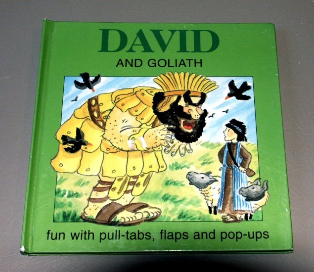 David and Goliath - Pop-up by Flying Frog Pg - Illustrated by Kay Widdowson - Oyster