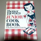 Better Homes and Gardens Junior Cook Book (1963) Cookbook