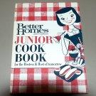 Better Homes and Gardens Junior Cook Book (1963) Cookbook