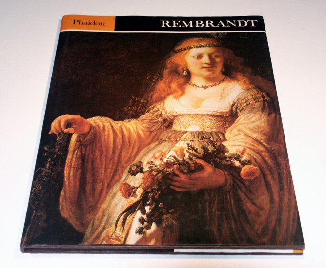 Rembrandt by Michael Kitson - Phaidon Press Full page Art Prints
