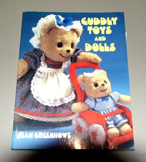 Cuddly Toys and Dolls by Jean Greenhowe (1983) - Guide Patterns