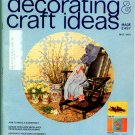 Decorating & Craft Ideas Made Easy - May 1974 - Magazine Back Issue - decorative folk art painting