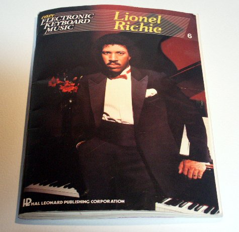 Easy Electronic Keyboard LIONEL RICHIE - Playing Guide to - Sheet Music
