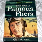 Boys' Book of Famous Fliers by Captain J.J. Grayson (1951) A Falcon
