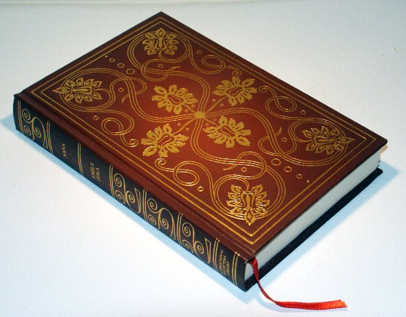 NANA by Emile Zola - International Collector's Library - Decorative Embossed Leather