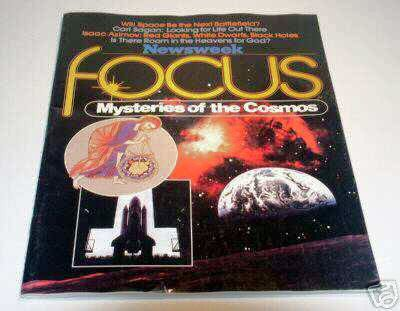 Newsweek FOCUS - Mysteries of the Cosmos - Magazine Issue #1 - 1980