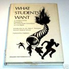 What Students Want - National Survey by the United States Commission on Civil Rights 1971