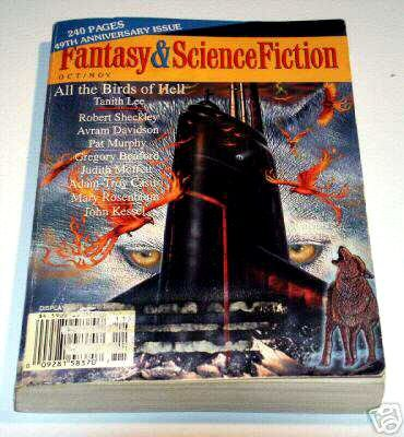 Fantasy & Science Fiction Oct./Nov. Volume 95, No. 4 & 5, Whole No. 567 - 49th Anniversary Issue