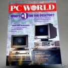 PC World Magazine - October 1988 Issue - Who's #1 On The Desktop? - back issue vintage