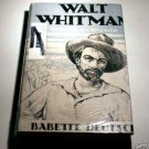 WALT WHITMAN: Builder for America by Babette Deutsch - Rafaello Busoni