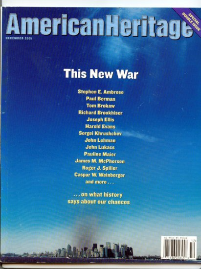 American Heritage Magazine - December 2001 - Double issue - This New War