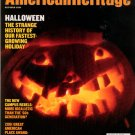 American Heritage Magazine - October 2001 - the history of Halloween