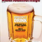 American Heritage Magazine - July 2002 - Beer: Democracy's Drink