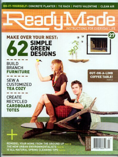 Ready Made Magazine - Feb/March 2007 - 62 Simple Green Designs