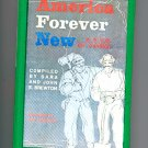 America Forever New - A Book of Poems by Sara & John Brewton (1968) Ann Grifelconi