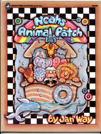 Noah's animal patch (Patch design series) by Jan Way