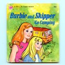 Barbie and Skipper Go Camping - Whitman Tell-A-Tale book (1973) Mattel