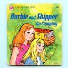 Barbie and Skipper Go Camping - Whitman Tell-A-Tale book (1973) Mattel