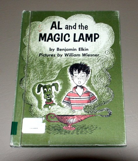 Al and the magic lamp by Benjamin Elkin (Hardcover book)