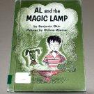 Al and the magic lamp by Benjamin Elkin (Hardcover book)