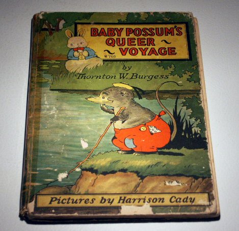 Baby 'Possum's Queer Voyage by Thornton W. Burgess (1928)