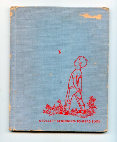 In John's Back Yard: a Follett Beginning-To-read Book by Esther K Meeks, Jessica Zemsky (1957 HC)