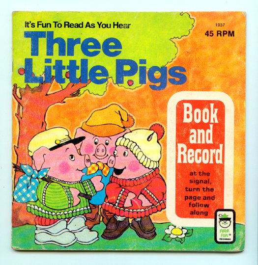 Three Little Pigs (Peter Pan Book and Record 1937)