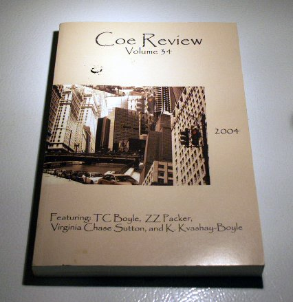 Coe Review - Volume 34 (2004) - Journal - T.C. Boyle, Z.Z. Packer