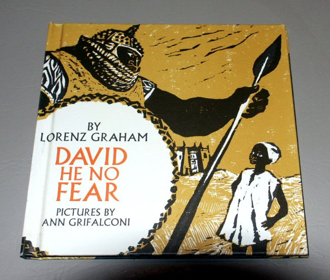David he no fear, (Hardcover 1971) by Lorenz B Graham