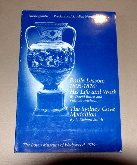 Monographs in Wedgwood Studies 3 & 4:  Emile Lessore, the Sydney Cove Medallion (1979)