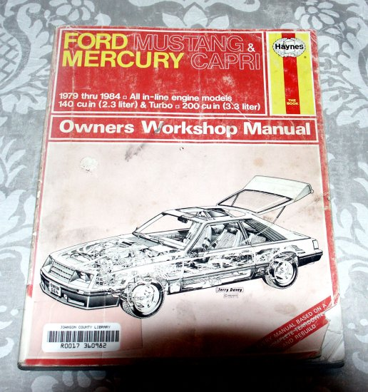 Ford Mustang and Mercury Capri 1979-84 - Haynes Repair Service Manual