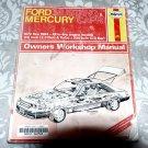 Ford Mustang and Mercury Capri 1979-84 - Haynes Repair Service Manual