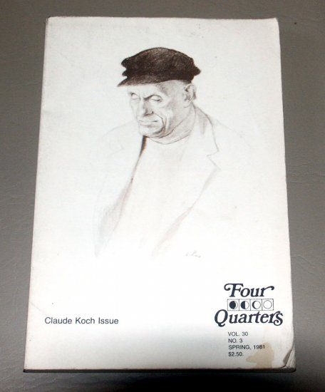 Claude Koch issue (Four Quarters) by Claude F Koch - La Salle College (1981)