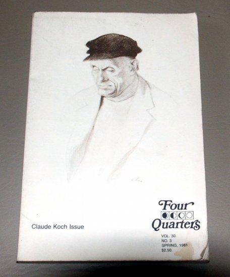 Claude Koch issue (Four Quarters) by Claude F Koch - La Salle College (1981)