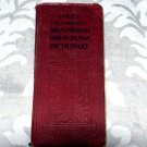 Hill's German-English and English-German Vest-Pocket Dictionary (1898) by Prof. C.M. Stevans