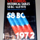 Historical Tables, 58 B.C.-A.D.1972 (Hardcover) by S.H. Steinberg