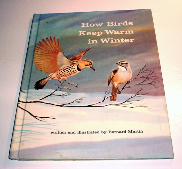 How Birds Keep Warm in Winter (Hardcover 1964) by Bernard Herman Martin