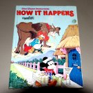 How It Happens (Goldencraft Hardcover 1979) by Disney