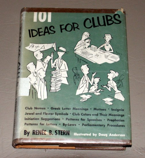 101 ideas for Clubs: Club handybook by Renee B Stern