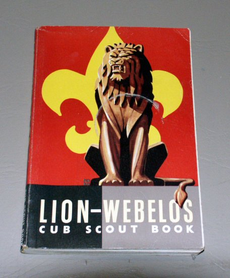 Webelos Scout Book - by Boy Scouts of America (1967)
