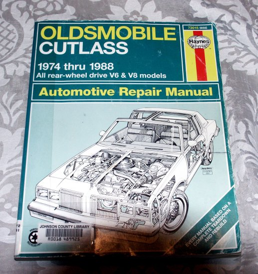 Oldsmobile Cutlass, 1974-1988 (Haynes Manuals) Service Repair Guide