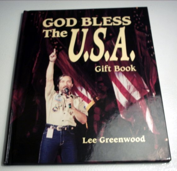 God Bless the U.S.A. Gift Book (Hardcover) by Lee Greenwood